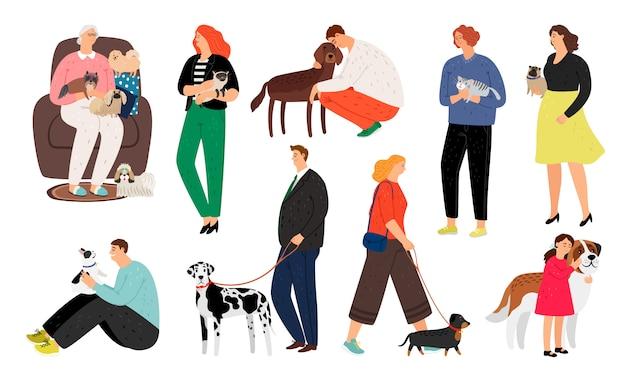 Pessoas donos de animais