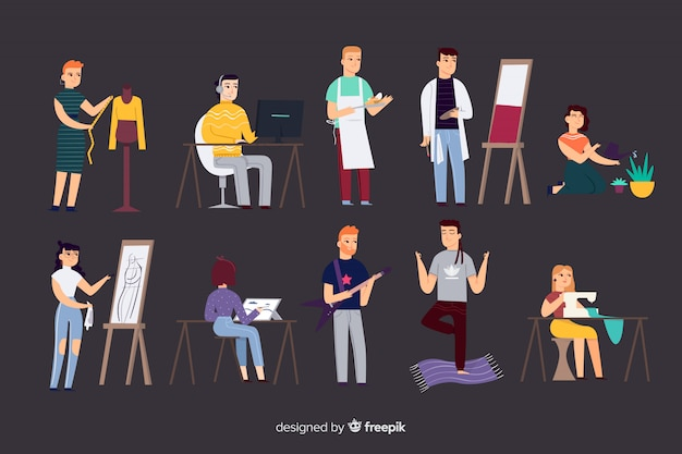 Pessoas e profissões