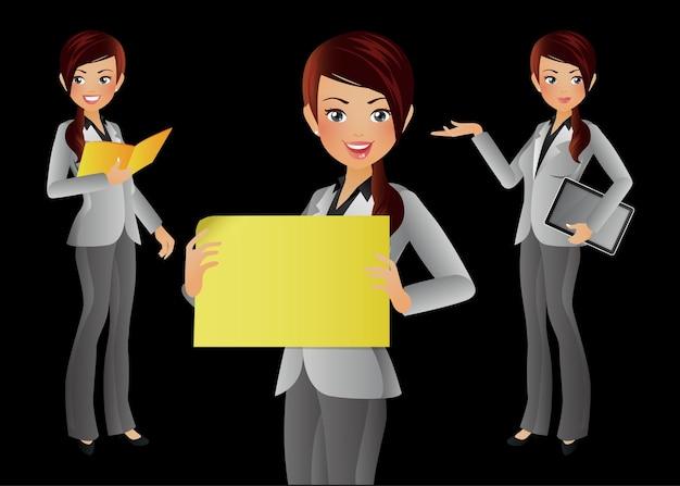 Pessoas elegantes - mulher de negócios