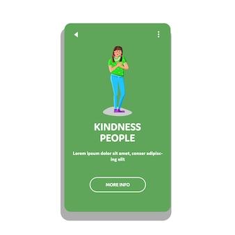 Pessoas gentis por ajuda e ajuda amigável