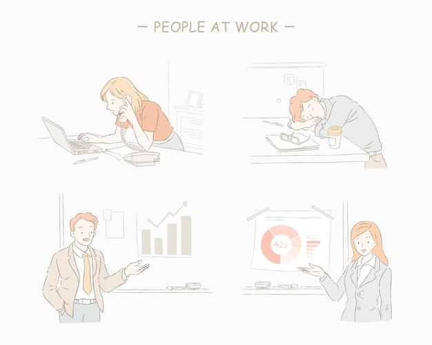 Pessoas no trabalho definem o estilo da linha