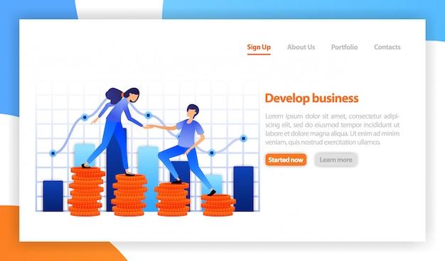 Pessoas trabalhando juntas para melhorar o financiamento