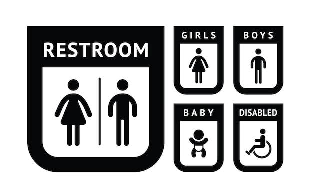 Pictograma de banheiro