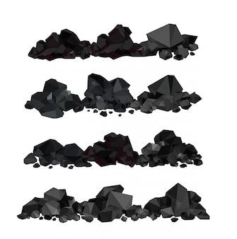 Pilha de carvão