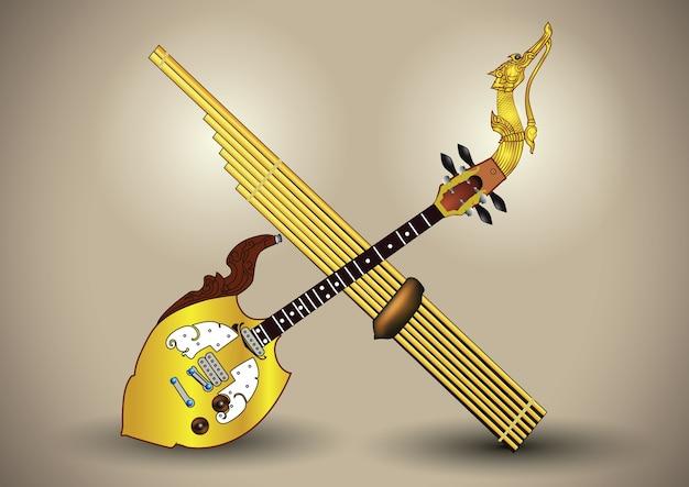 Pin & can instrumentos musicais northeastthailand