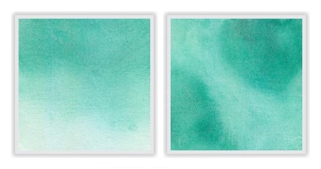 Pincéis de fundo aquarela feitos à mão