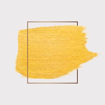 Pincelada de ouro