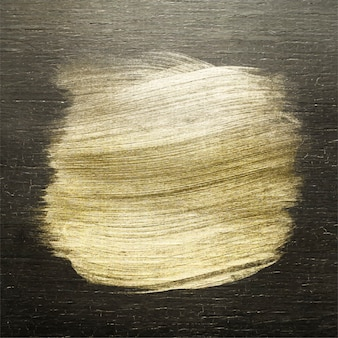 Pincelada dourada