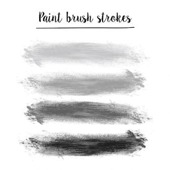 Pinceladas pintura set