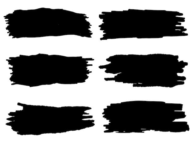 Pinceladas pretas