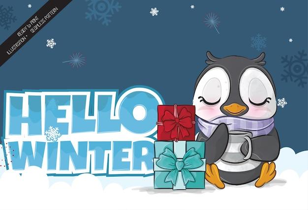 Pinguim bebê 2
