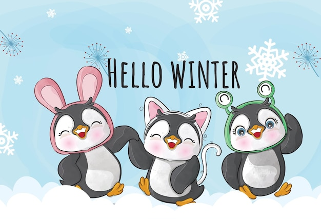 Pinguim bebê 6
