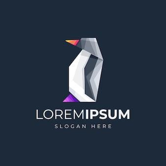 Pinguim logo vector illutration