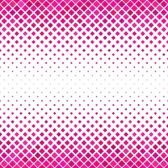 Pink carré padrão de fundo - design de vetor geométrico