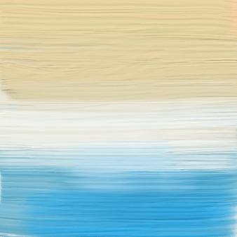 Pintado de fundo abstrato da praia
