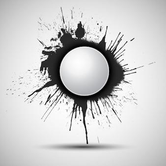 Pinte o respingo fundo abstrato