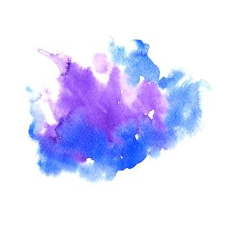 Pintura colorida de água abstrata