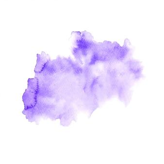 Pintura colorida de água abstrata Vetor Premium