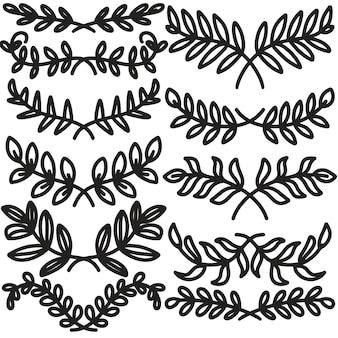 Pintura de imagens linha de design arte branco cores pretas desenhando com forma. art. mínimo e natural da parede.