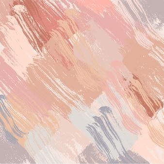 Pintura escova fundo e papel de parede vetor fundo ilustração vetorial arte abstrata impressão