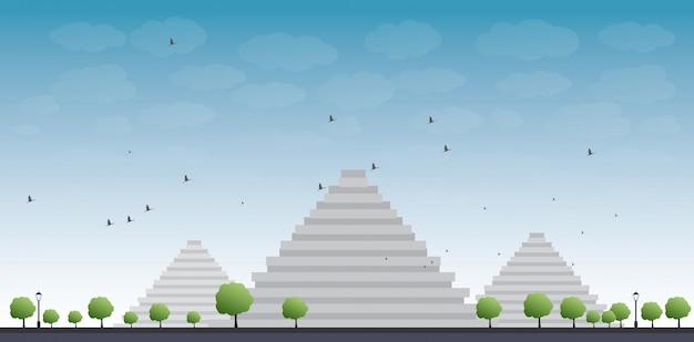 Pirâmides em gizé