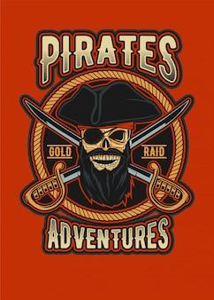 Pirata do crânio