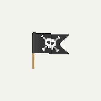 Pirata do pixel flag.8bit.