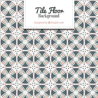Piso azulejos geométricos
