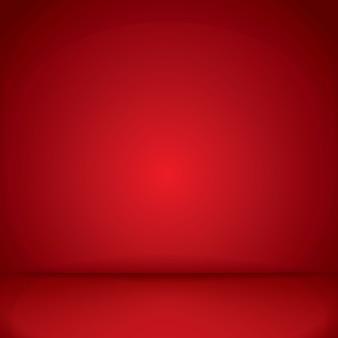 Piso vermelho e fundo da parede