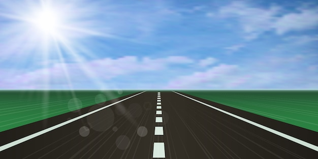 Pista de corrida, estrada rodovia.