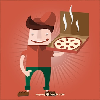 Pizza cartoon