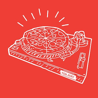 Pizza jockey