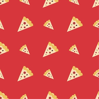Pizza sem costura padrão