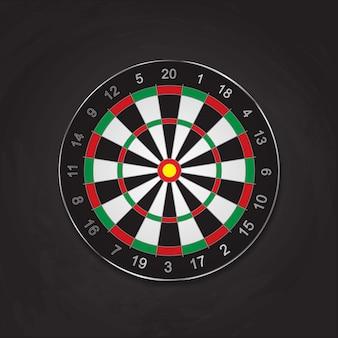 Placa de alvo de tiro com arco realista, fundo preto, metal, escuro