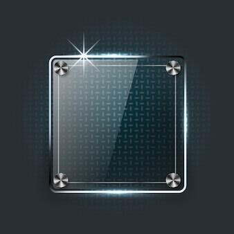 Placa de cristal