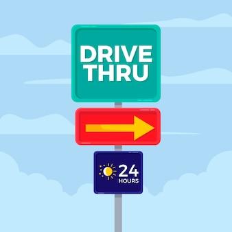 Placa de direção direta