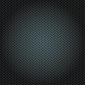 Placa de metal padrão