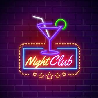 Placa de néon para pub ou restaurante