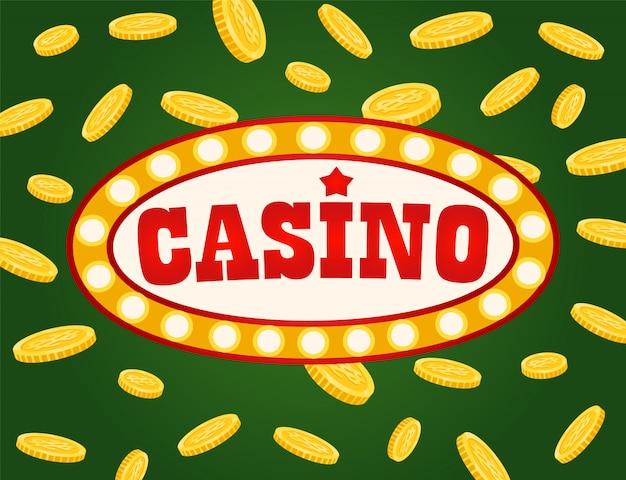 Placa do jackpot, ilustração de tabuleta de jogo