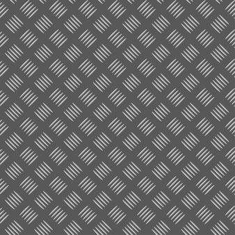 Placa metálica padrão sem emenda
