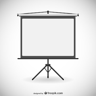 Placa para apresentações vector