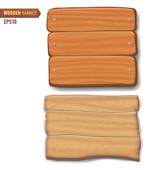 Placas de madeira, conjunto de outdoor de sinal de seta de madeira.