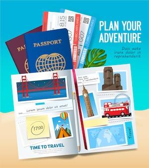 Planeie a sua aventura