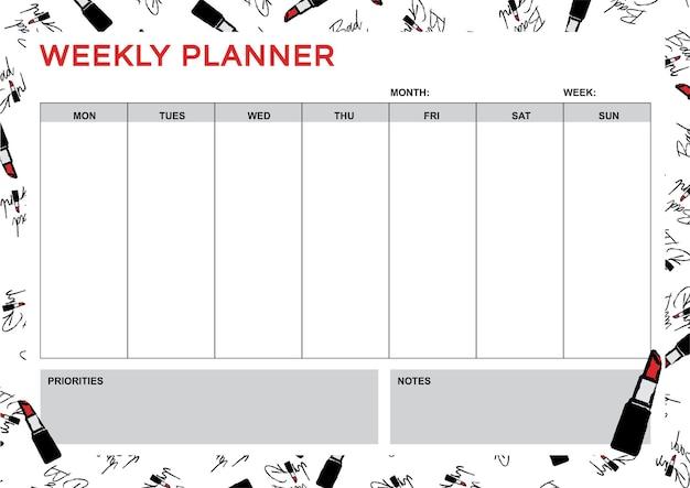 Planejador a4