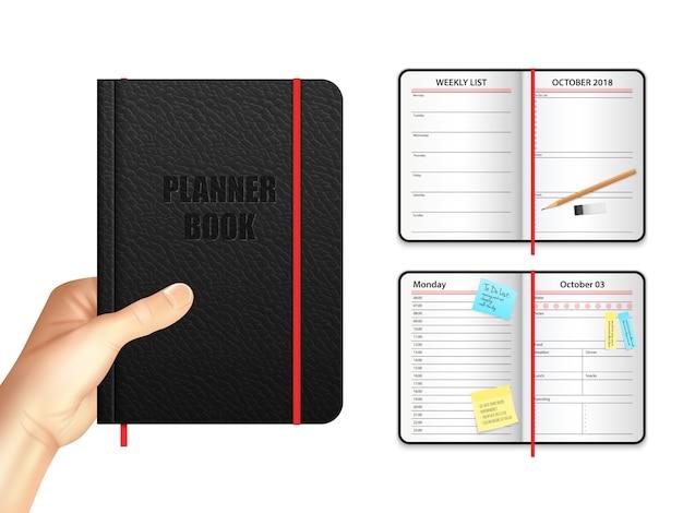 Planejador de livro