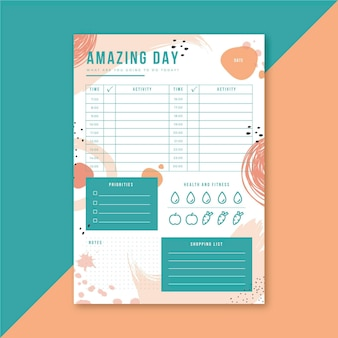 Planejador diário
