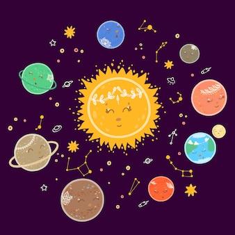 Planetas fofos