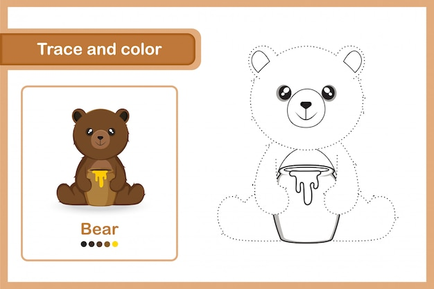 Planilha de desenho para crianças prées-escolar