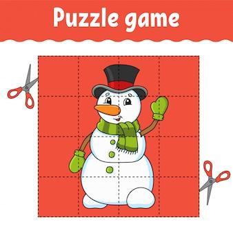 Planilha de desenvolvimento de educação. página de atividade. enigma para a pré-escola.