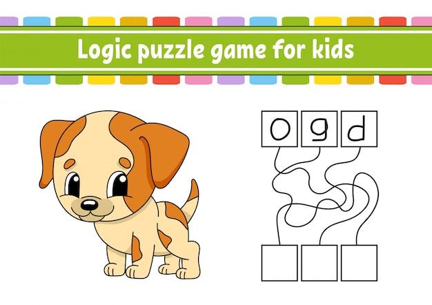 Planilha de jogo de quebra-cabeça de lógica